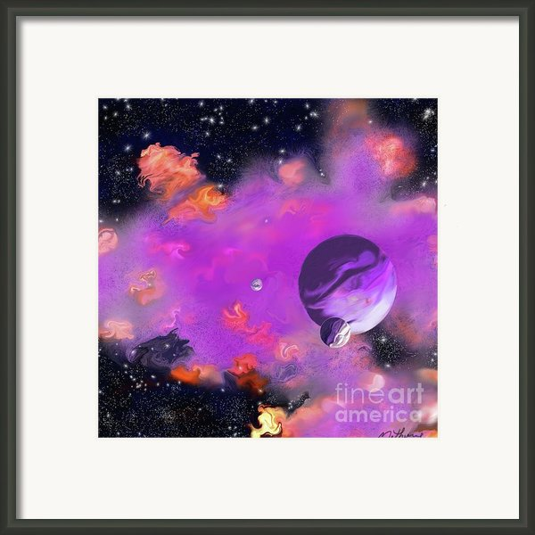 My Space Framed Print By Methune Hively