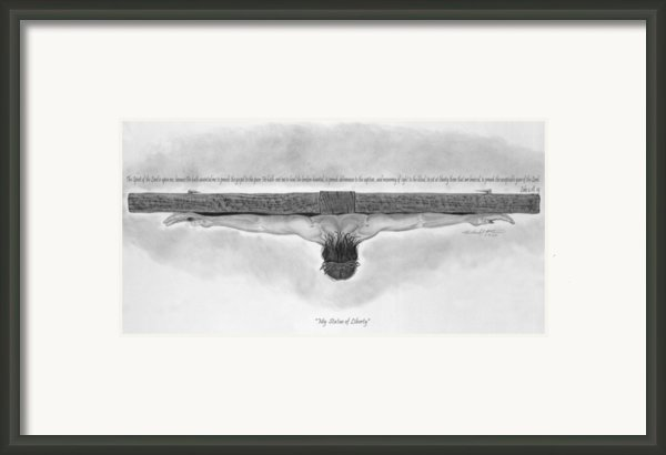 My Statue Of Liberty Framed Print By Michael Mcferrin