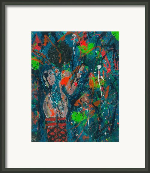 My Teal Tart Framed Print By Annette Mcelhiney