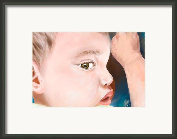My Trent Framed Print By Lisa  Spencer