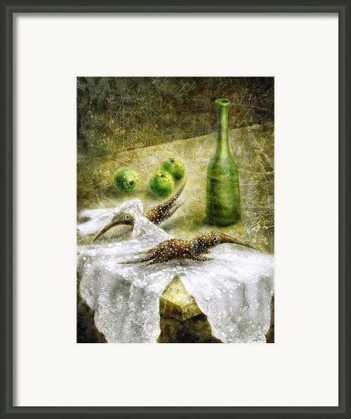 Mysterious Movement Framed Print By Lolita Bronzini