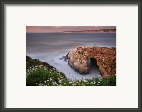 Mystical Cave Framed Print By Larry Marshall