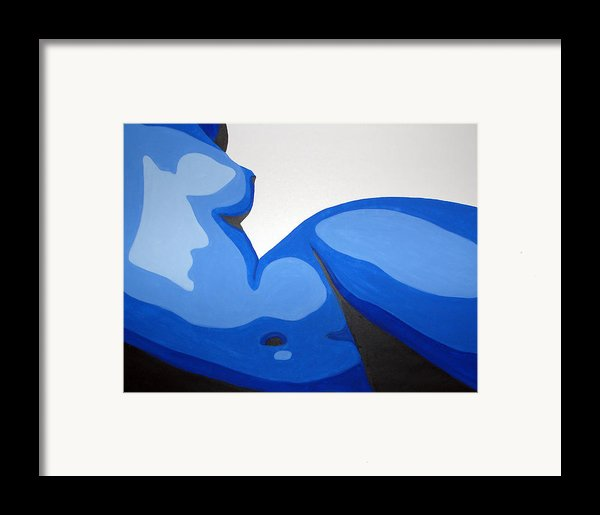 Naked Woman Framed Print By Michael Ringwalt