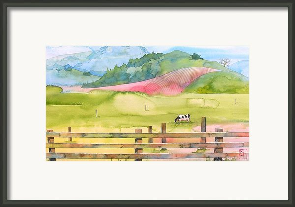 Napa Valley Framed Print By Robert Hooper