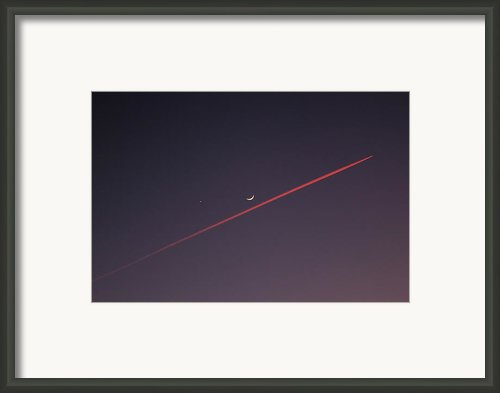 Narrowly Missed The Moon Framed Print By Jasna Buncic