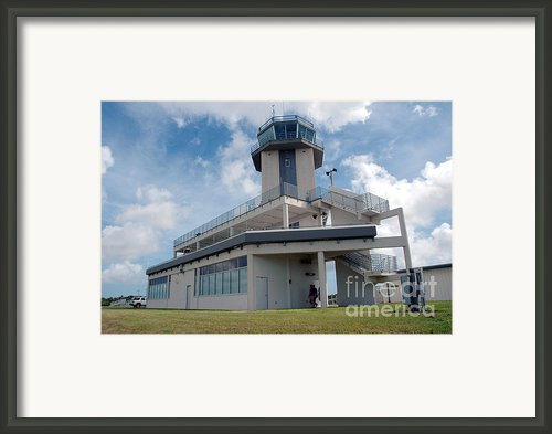 Nasa Air Traffic Control Tower Framed Print By Nasa