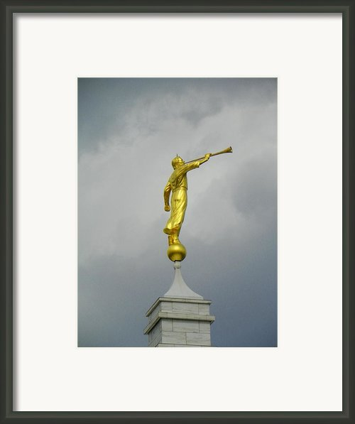 Nashville Moroni Framed Print By Mark Cheney