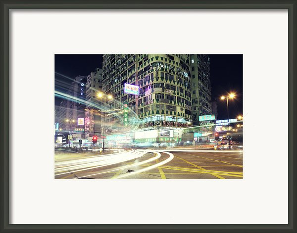 Nathan Road Framed Print By Thank You For Choosing My Work.