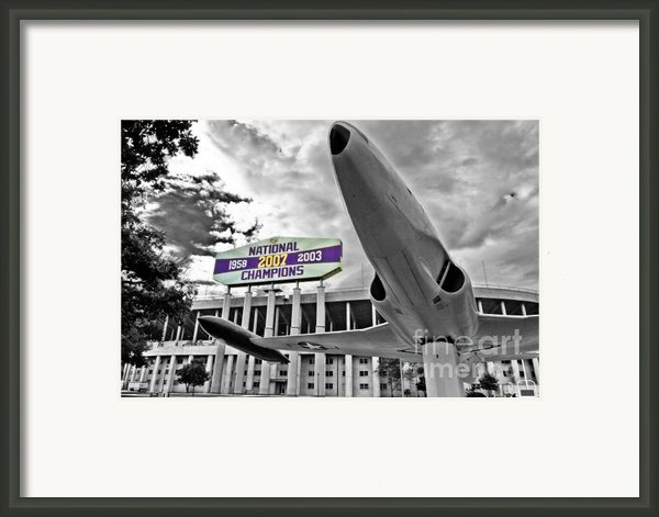 National Champions Framed Print By Scott Pellegrin