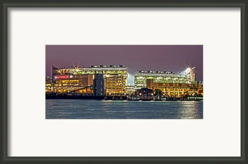 Nationals Park - Baseball Stadium - Washington Dc Framed Print By Brendan Reals
