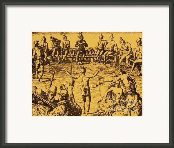 Native Amercian Medicine Framed Print By Science Source