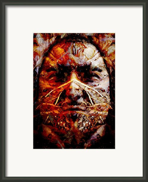Native Spirit Framed Print By Christoher Gaston