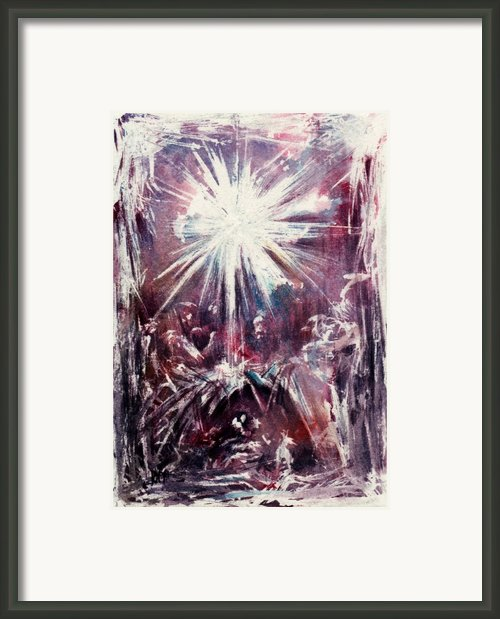 Nativity 1 Framed Print By Rachel Christine Nowicki