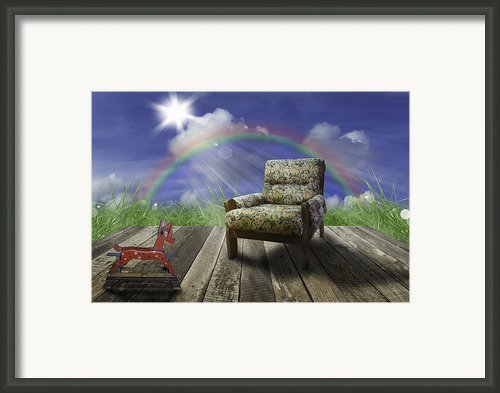 Nature Scene In Spring And Summer Framed Print By Setsiri Silapasuwanchai