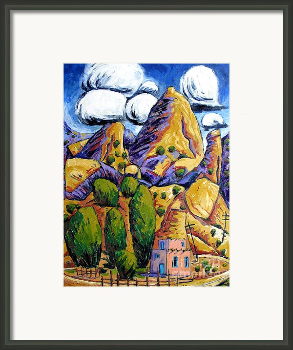 Navaho Trading Post Framed Print By Charlie Spear