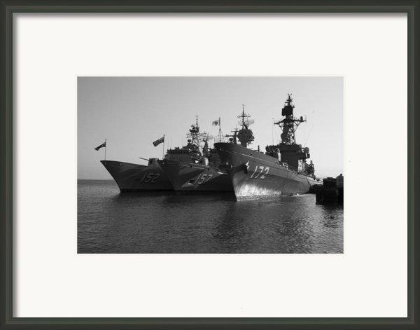 Naval Joint Ops V1 Framed Print By Douglas Barnard
