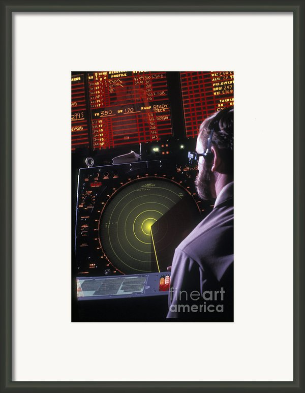 Navy Petty Officer Students Practice Framed Print By Michael Wood