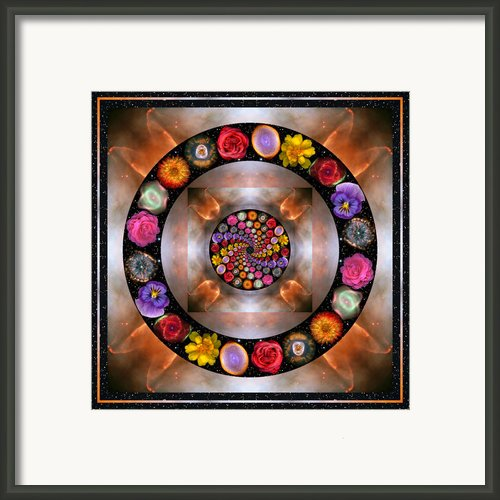 Nebulosity Framed Print By Bell And Todd