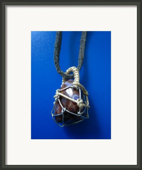 Necklace 4 Framed Print By Lorna Diwata Fernandez