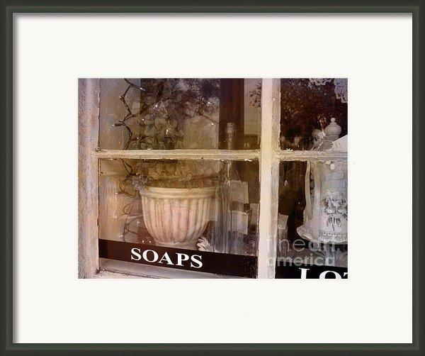 Need Soaps Framed Print By Susanne Van Hulst