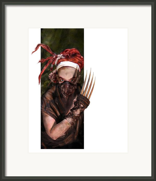 Neobedouin - Beast Dancer Framed Print By Mandem
