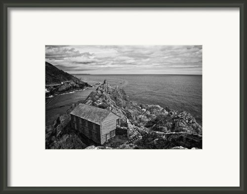 Net Shed Framed Print By Jay Lethbridge