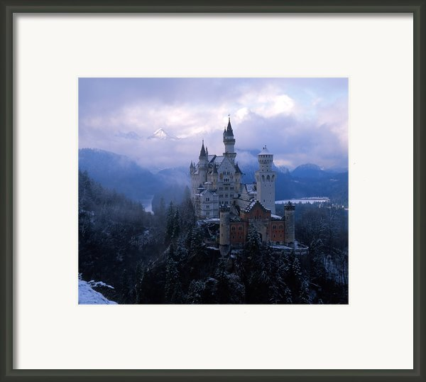 Neuschwanstein Framed Print By Don Ellis