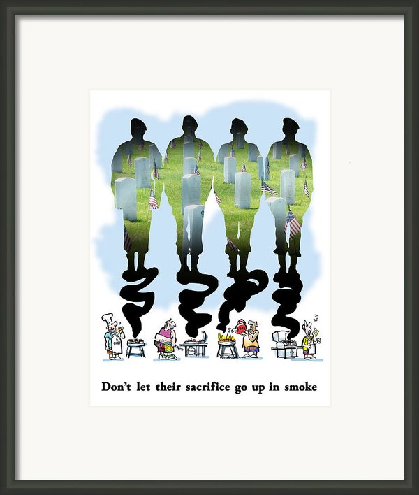 Never Forget Framed Print By Mark Armstrong