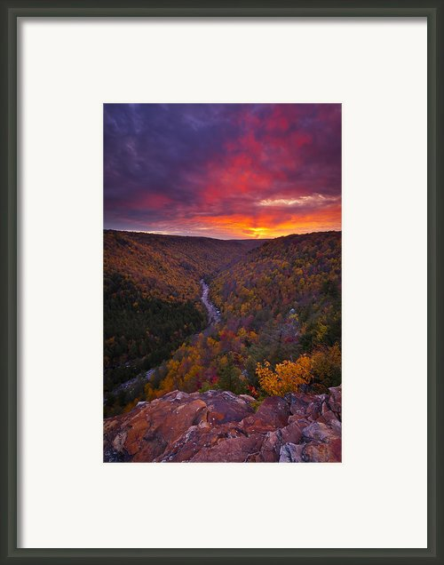 Neverending Autumn Framed Print By Joseph Rossbach