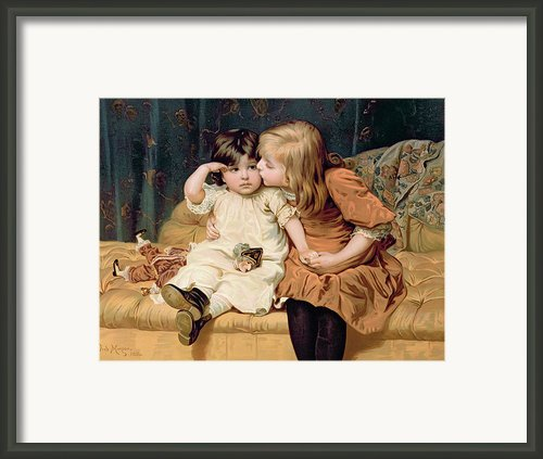 Nevermind Framed Print By Frederick Morgan