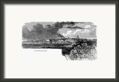 New Brunswick, 1876 Framed Print By Granger