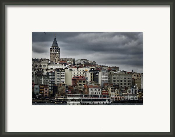 New District Skyline Framed Print By Joan Carroll