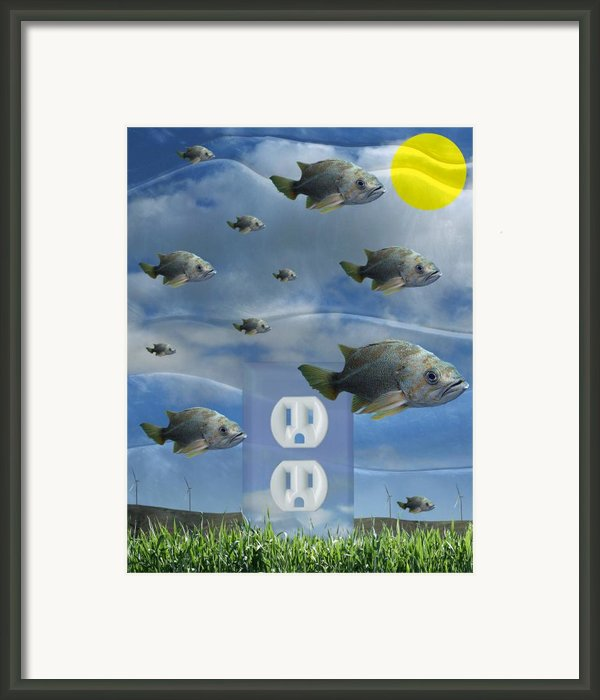 New Energy Framed Print By Keith Dillon