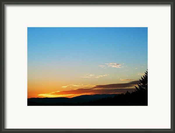 New Lazy Summer Day Framed Print By Kevin Bone