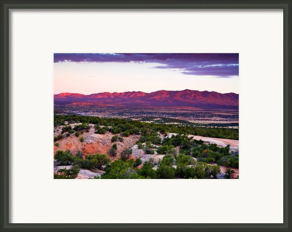 New Mexico Sunset Framed Print By Matt Suess