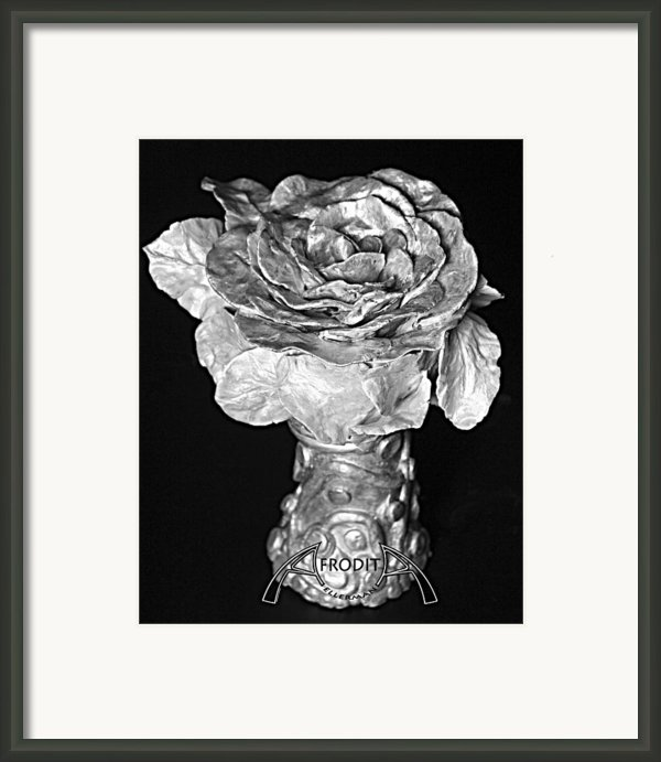New Sculpture Framed Print By Afrodita Ellerman