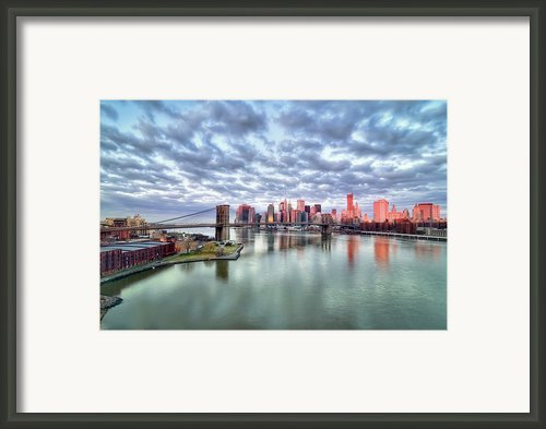 "New York City Framed Print By Photography By Steve Kelley Aka ""mudpig"""