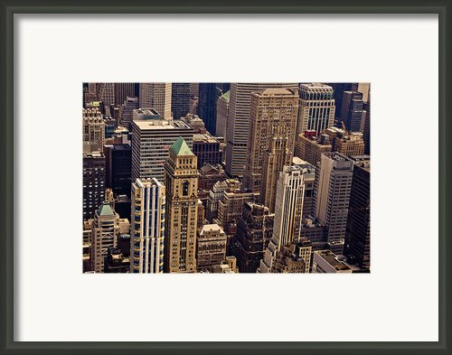 New York City Urban Landscape Framed Print By Vivienne Gucwa