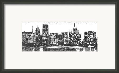 New York Framed Print By Jo Anna Mcginnis