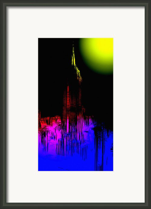 New York Nights Framed Print By Stefan Kuhn