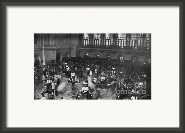 New York Stock Exchange Framed Print By Granger