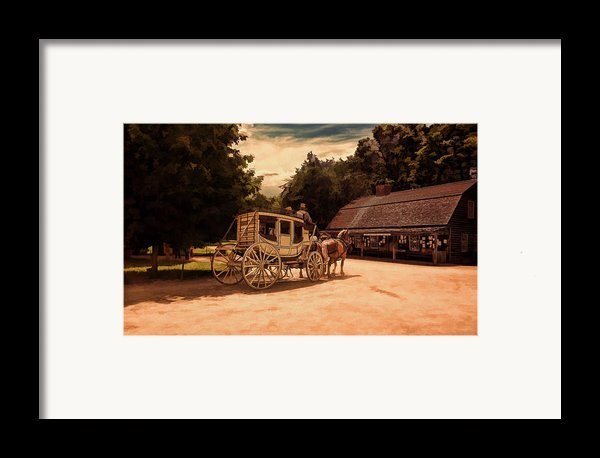 Nice And Easy Framed Print By Lourry Legarde