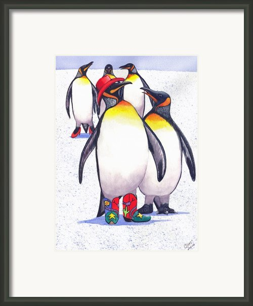 Nice Hat Framed Print By Catherine G Mcelroy