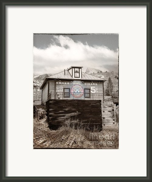 Nickel Cigars Framed Print By Julie Palencia