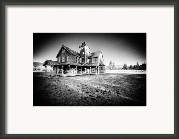 Nicolas Haunted House Iib Framed Print By Paul W Sharpe Aka Wizard Of Wonders