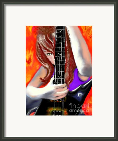Nicole  Framed Print By Lori  Lovetere