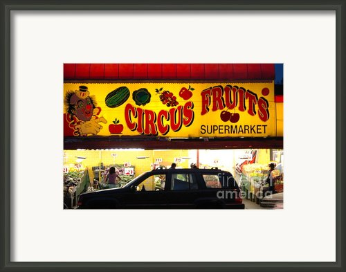 Night At The Supermarket Framed Print By Mark Gilman