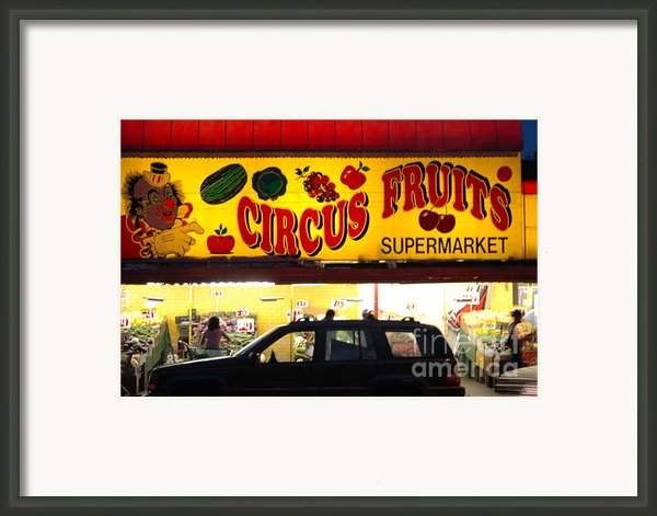 Night At The Supermarket Framed Print By Mark Gilman