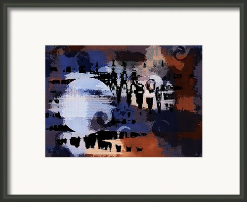 Night Music Framed Print By Ron Jones