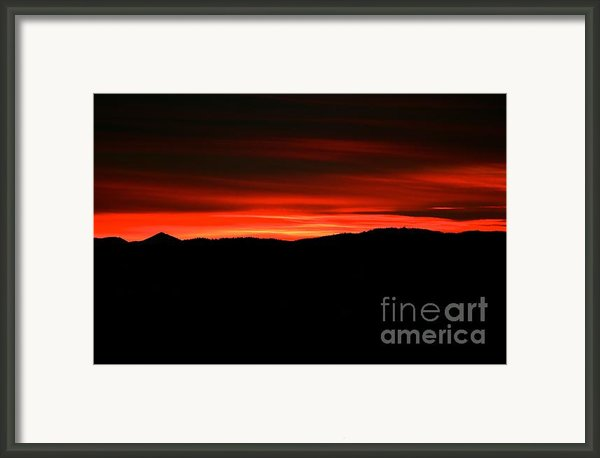 Night On Fire Framed Print By Kevin Bone